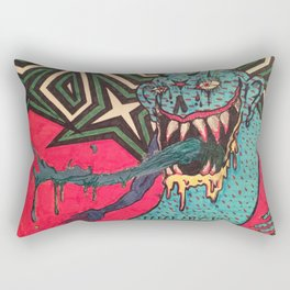 DEMON GOD 'FREAK ANY HO' Rectangular Pillow