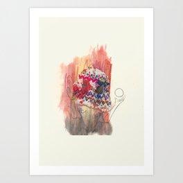 Shaman Lady Art Print