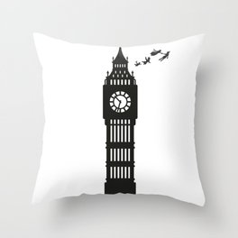 And Straight on 'Till Morning Throw Pillow