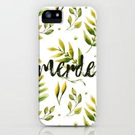 Merde iPhone Case