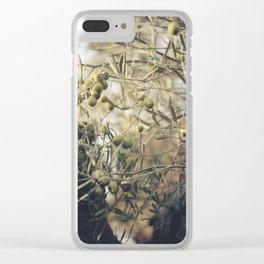 Olive tree Clear iPhone Case