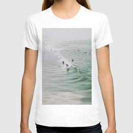 lets surf iv / venice beach, california T-shirt