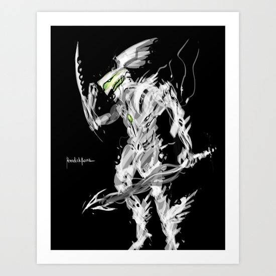 God Hermes Art Print