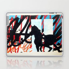 HORSE SCRIBBLE Laptop & iPad Skin