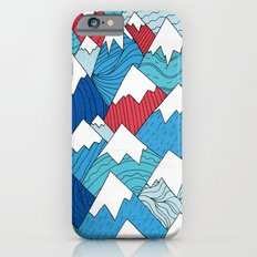 Mountain Pattern 2.0 Slim Case iPhone 6s