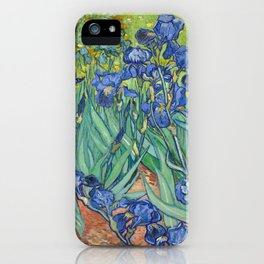Irises - Vincent Van Gogh iPhone Case