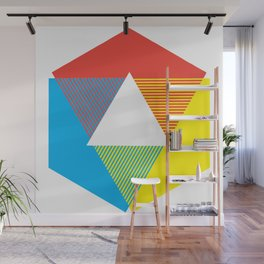 Color Wheel print, Color Chart Rainbow design by Christy Nyboer / Little Lark Wall Mural