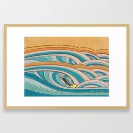 Joe Vickers Jonas Claesson Collab 2 Framed Art Print