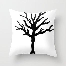 Tentacion tribute tree. Throw Pillow