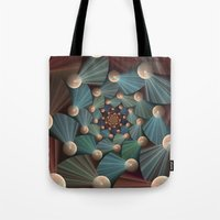graphic design Tote Bags featuring Graphic Design by gabiw Art