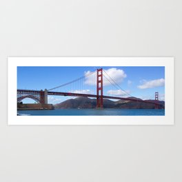 Golden Gate Bridge San Francisco Ca Art Print