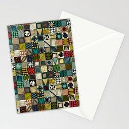 wolf geo Stationery Cards