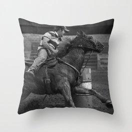Turn Two Throw Pillow