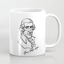 Franz Joseph Haydn Coffee Mug