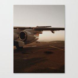 Plane Ride Canvas Print