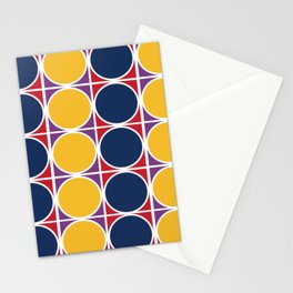 1960s geometric knitting patterns Stationery Cards