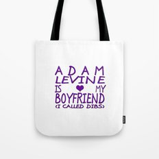 Adam Levine Is My Boyfriend ❤ Tote Bag