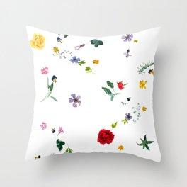 Midsummer Incantation Throw Pillow
