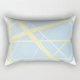 Crossroads ll - circle graphic Rectangular Pillow