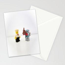 Lego cook & robot misunderstanding Stationery Cards