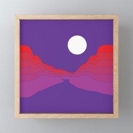 Amethyst Ravine Framed Mini Art Print