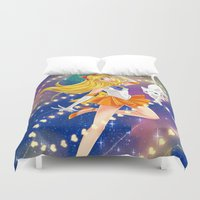 sailor venus Duvet Covers featuring Sailor Venus  by Moonsia