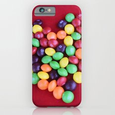 Skittles Heart iPhone 6s Slim Case