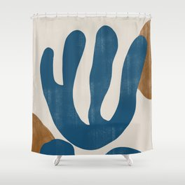 Matisse Flowers No 3 Shower Curtain