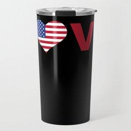 Love USA Travel Mug