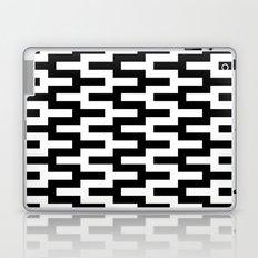 Black & White Zigzag Laptop & iPad Skin