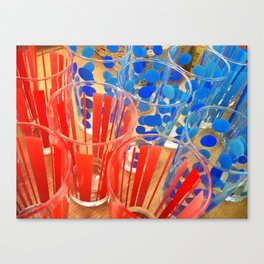 Cheap Glasses Canvas Print