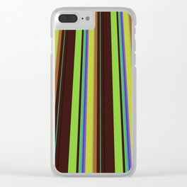Perspective is everything Clear iPhone Case