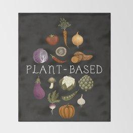plant based Throw Blanket
