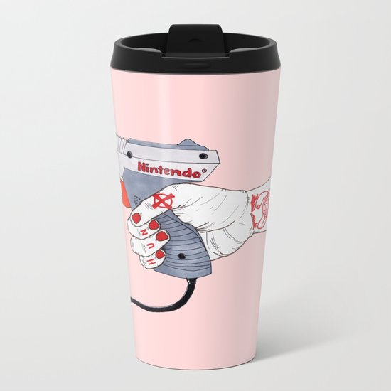 Hunt Metal Travel Mug
