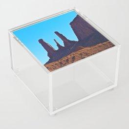 Blue Sky & Rock Acrylic Box