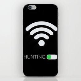 Wifi Hunting iPhone Skin