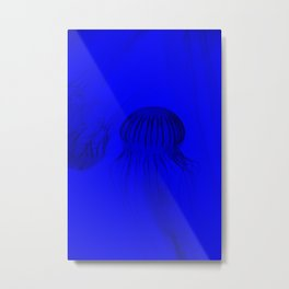 Jelly Strokes Metal Print