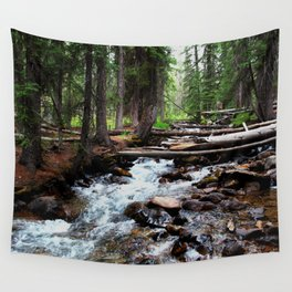Mountain Stream Wall Tapestry