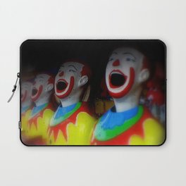 Laughing Clowns Laptop Sleeve