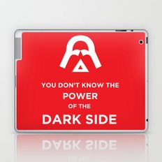 The Power of the Dark Side Laptop & iPad Skin