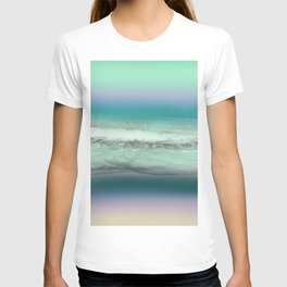 Twilight Sea in Shades of Green and Lavender T-shirt
