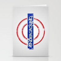 velvet underground Stationery Cards featuring Underground by eARTh