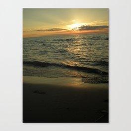 Michigan Sunset 2 Canvas Print