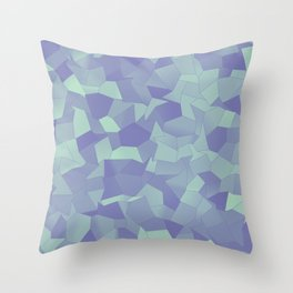 Geometric Shapes Fragments Pattern lpb Throw Pillow