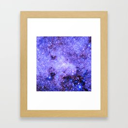 Lavender gAlAxy. Framed Art Print