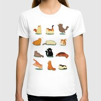 fat T-shirts featuring Fat Cats by Kecky