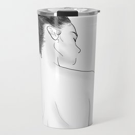 Kiss Me On My Neck Travel Mug