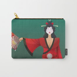 Vector Geisha (Turning Japanese) Carry-All Pouch
