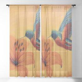 What a beauty | Qu'elle beauté Sheer Curtain