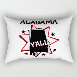 Alabama State Pride T-shirt Rectangular Pillow